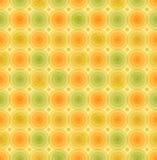 Vector Retro- Hintergrund Weinlesemehrfarbenmuster mit geometrischer Schablone der glatten Kreise für Tapeten, Abdeckungen Stockfotografie