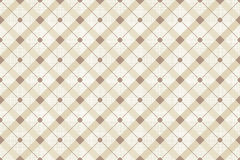 Vector Retro Naadloze Polka Dot Pattern Stock Afbeelding