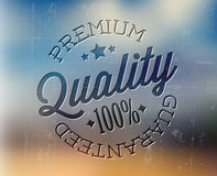 Vector retro premium quality detailed stamp Stock Photos