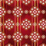 Vector Retro Seamless Pattern royalty free stock photography
