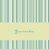 Vector Retro Striped Background Royalty Free Stock Photos