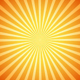 Vector retro sunburst Stock Photography