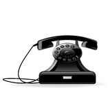 Vector retro telephone Stock Photo