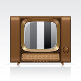 Vector retro tv Stock Images