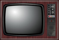 Vector - Retro tv, illustration Stock Photos