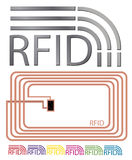 Vector RFID Stock Photo