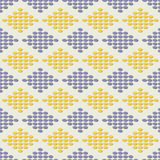 Vector rhombus pattern Royalty Free Stock Photography