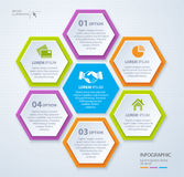 Vector rhombus template for infographic. Business concept. Eps 10. vector illustration