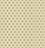 Vector rhombuses lattice seamless pattern Stock Images