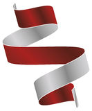 Vector ribbon. Vector strands of ribbon that fell to the floor Stock Photo