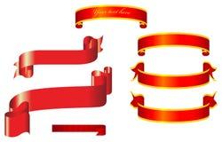 Vector Ribbons Stock Photo