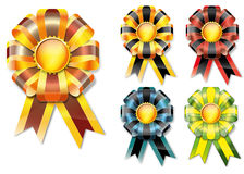 Vector ribbons Stock Image