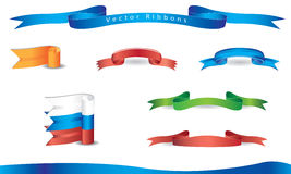 Vector ribbons Royalty Free Stock Photography
