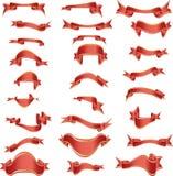 Vector ribbons Royalty Free Stock Photo