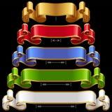 Vector Ribbons Set 12 Royalty Free Stock Photography