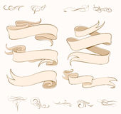 Vector Ribbons Set Royalty Free Stock Image