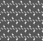 Vector rieten kubussentextuur, geometrisch naadloos patroon, ontwerpachtergrond voor u projecten royalty-vrije illustratie