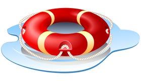 Vector ring-buoy Stock Photo