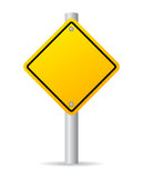 Vector road sign Stock Image