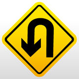 Vector Road Sign Stock Photo