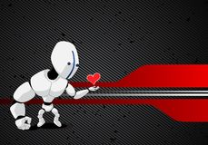 Vector robot Stock Image