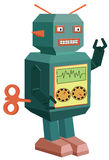 Vector robot toy Royalty Free Stock Photo