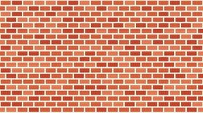 Vector Rode Bakstenen muurachtergrond Oud textuur stedelijk metselwerk Het uitstekende behang van het architectuurblok Retro illu stock illustratie
