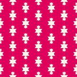 Vector rode Kerstmisachtergrond Feestelijk ontwerp voor decoratie, giftdocument, stof, textiel, kleding Royalty-vrije Stock Afbeelding