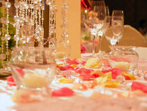 Vector romántico de la boda Imagen de archivo libre de regalías