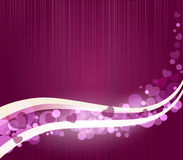 Vector romantic abstract purple background Stock Images