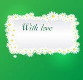 Vector romantic background Stock Photography