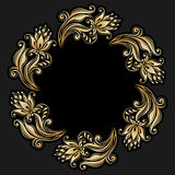 Vector rond ornament Stock Afbeelding