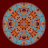 Vector rond ornament Royalty-vrije Stock Afbeelding