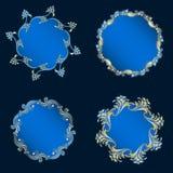 Vector ronde ornamenten Stock Fotografie