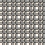 Vector rooster naadloos patroon Vierkante textuur, netachtergrond stock illustratie