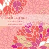 Vector rosafarbenen Hintergrund stock abbildung