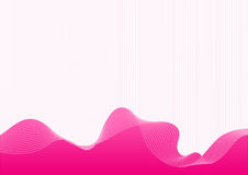 Vector rose background. With lines Stock Photo