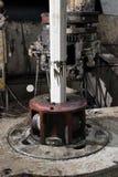 Vector rotatorio de la plataforma de perforación Foto de archivo libre de regalías