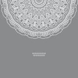 Vector round decorative design element Stock Photo