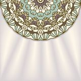 Vector round decorative design element Stock Photography