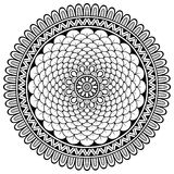 Vector round Mandala Stock Images