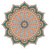 Vector round Mandala Stock Photography