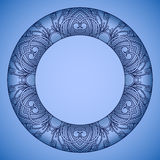 Vector round ornament. Stock Images