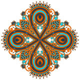Vector round ornament. Royalty Free Stock Photo