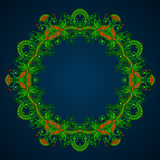 Vector round ornament. Stock Photography