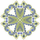 Vector round ornament. Stock Photo