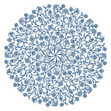 Vector round ornament. Royalty Free Stock Images