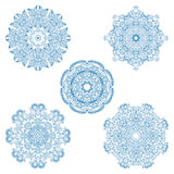 Vector round ornaments. Royalty Free Stock Photography