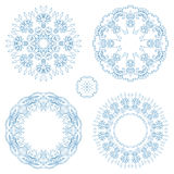 Vector round ornaments. Stock Photography