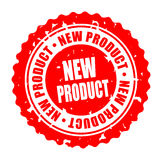Vector round stamp NEW PRODUCT Stock Photos